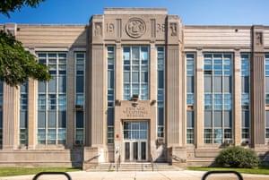 Chicago vocational high school, 2100 E 87th Street