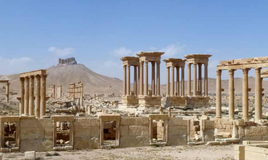 Ancient Palmyra in March 2016.