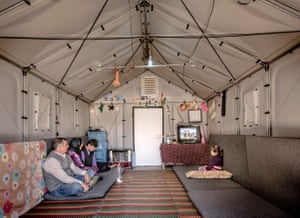 Robust … interior of a shelter in Iraq.