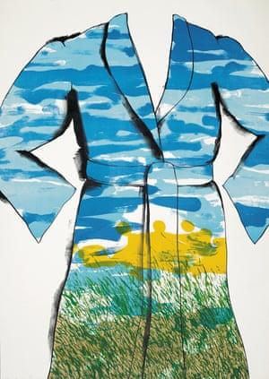 'Prophetic': Jim Dine's Self-Portrait: The Landscape, 1969.