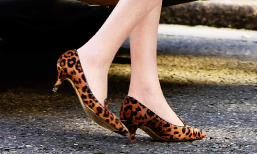 Theresa May effectively ends leopardskin.