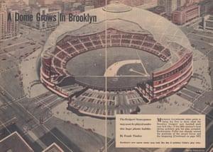 Dodger Dome - Bel Geddes and Buckminster Fuller, 1955