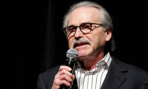 David Pecker, chief of the National Enquirer, seems to be cooperating with federal prosecutors in their investigation.