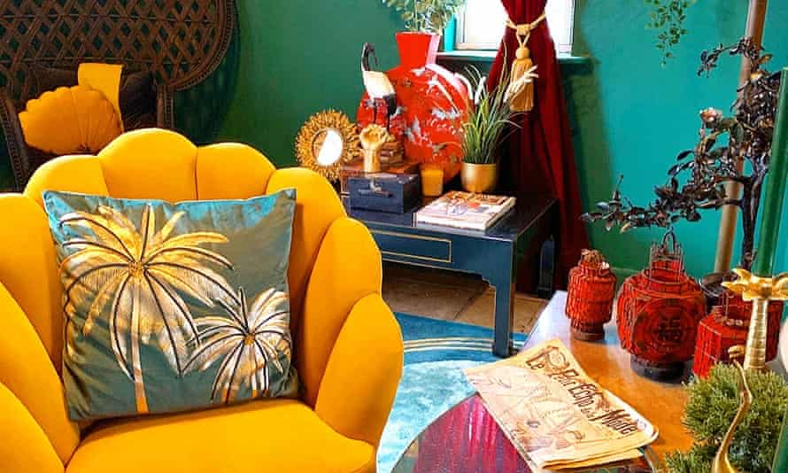 The exotic lounge designed by Siobhan Murphy