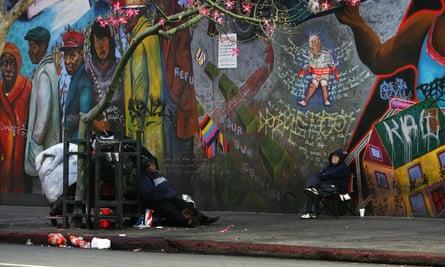 Skid Row Los Angeles