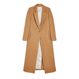 Editor's pick: a long camel coat is this winter's most versatile option, thrown over casual outfits or smart enough for meet-ups Coat, £225, topshop.com.