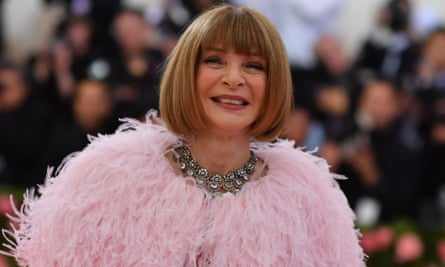 Vogue Editor-in-Chief Anna Wintour arrives for the 2019 Met Gala