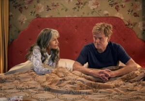 2017, OUR SOULS AT NIGHTJANE FONDA & ROBERT REDFORD Character(s): Addie Moore, Louis Waters Film 'OUR SOULS AT NIGHT' (2017) Directed By RITESH BATRA 01 September 2017 SAW91839 Allstar/NETFLIX **WARNING** This Photograph is for editorial use only and is the copyright of NETFLIX and/or the Photographer assigned by the Film or Production Company & can only be reproduced by publications in conjunction with the promotion of the above Film.