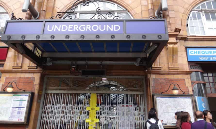 Strike action has brought London's underground to a standstill in the same week that the government has introduced anti-union legislation.