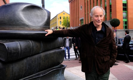 Richard Ford in Oviedo, Spain, after speaking ahead of the Princess of Asturias awards ceremony in 2016.