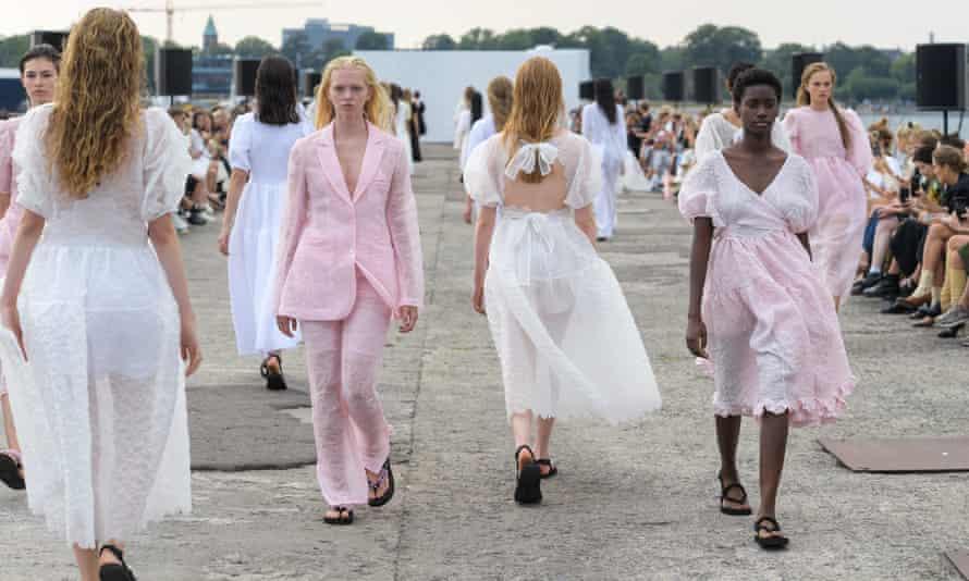 Cecilie Bahnsen at Copenhagen fashion week.