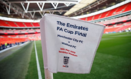 Manchester City v Watford: FA Cup final – live!