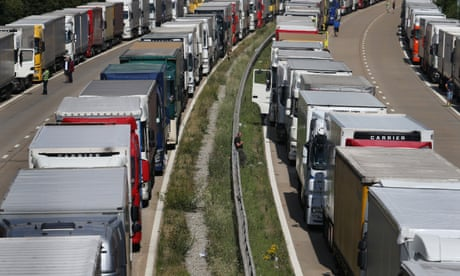 Kent motorway to shut as work begins on possible post-Brexit lorry park