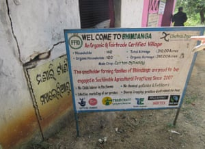 A sign in Kalahandi, Odisha