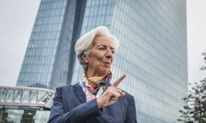 Christine Lagarde is the new president of the European Central Bank.