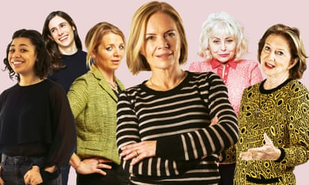 How was it for me?: (from left) Charlie Brinkhurst-Cuff, Emily Witt, Clover Stroud, Mariella Frostrup, Penny Arcade and Marie de Hennezel