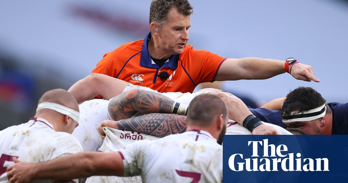 Nigel Owens: We need to get back to the referee actually reffing the game