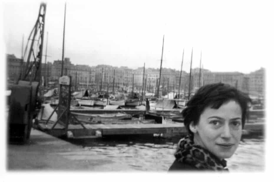 Ursula K Le Guin photographed in her first year as a Fulbright scholar in Marseille, c1953.