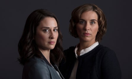 Morven Christie as Ellen and Vicky McClure (again) as Paula in The Replacement.