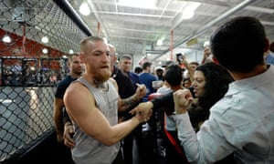Conor McGregor has the chance to be the first MMA fighter to hold two belts simultaneously.