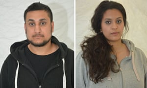 Mohammed Rehman and Sana Ahmed Khan. Rehman was caught by an undercover investigator who engaged with him on Twitter.