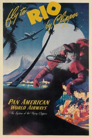 Mark von Arenburg, Fly to Rio by Clipper / Pan American World Airways