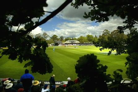 Don Bradman Oval in Bowral, NSW.