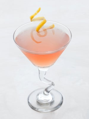 An aperol cocktail