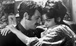 ean-Paul Belmondo with Geneviève Bujold in Louis Malle's The Thief of Paris, 1967