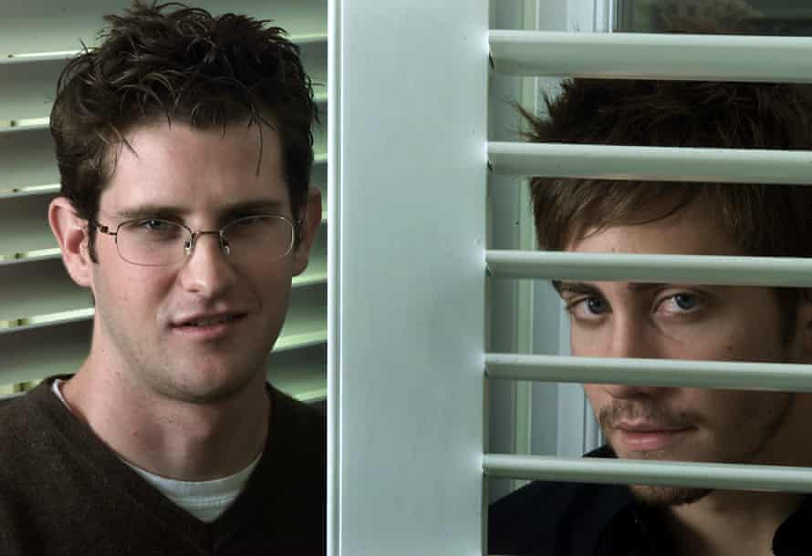 Richard Kelly and Jake Gyllenhaal in 2001.