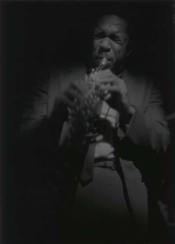 Coltrane on Soprano 1963, by Roy DeCarava.