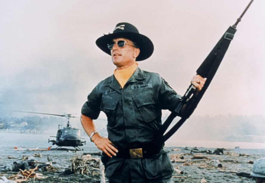 Robert Duvall in Apocalypse Now.