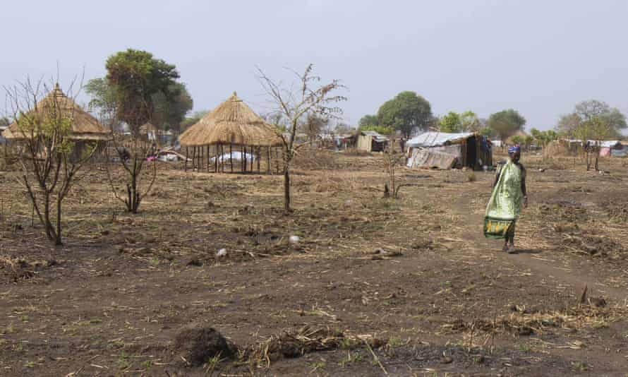 Nyumanzi resettlement camp in northern Uganda.