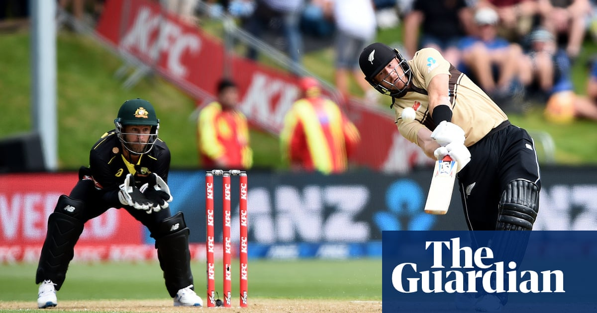 New Zealand fireworks prove too much as Australia fall just short in T20 run chase