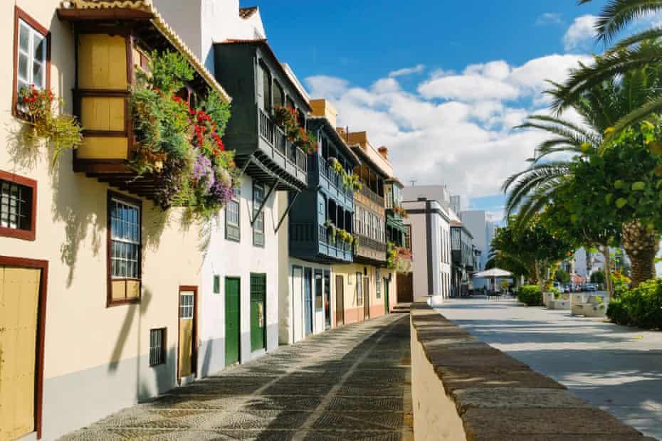 Santa Cruz de la Palma, arguably the most beautiful of the Canaries' capitals.