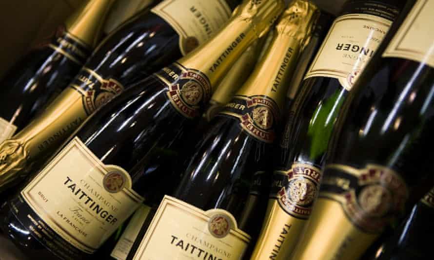 Taittinger non-vintage champagne.