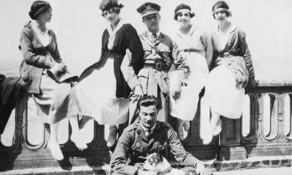 Chips on holiday in Deauville, Normandy in 1918.