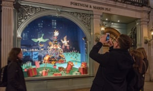 Fortnum & Mason in Piccadilly, London.