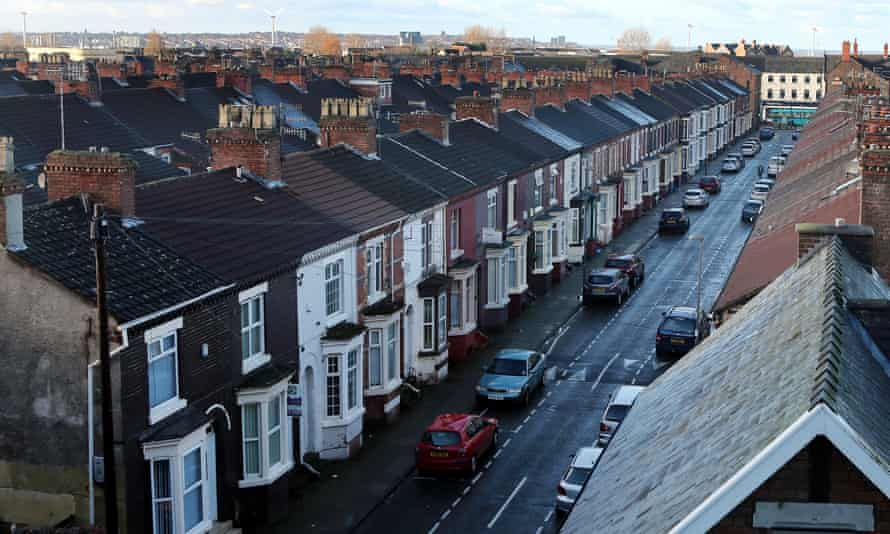 A line of terraced houses
