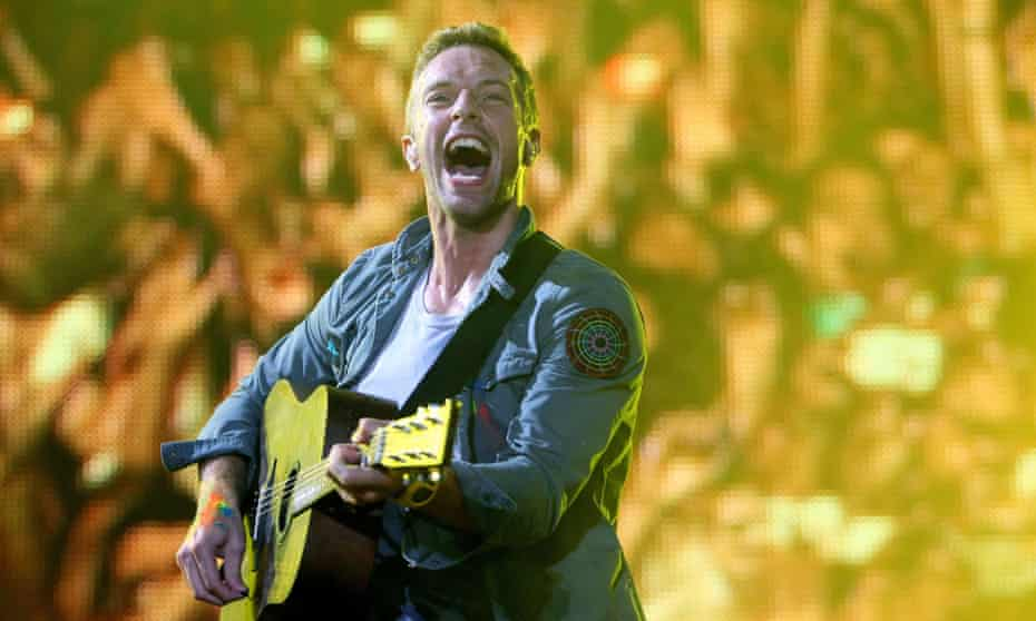 Chris Martin: 'I don't want to change places with any person in history.'