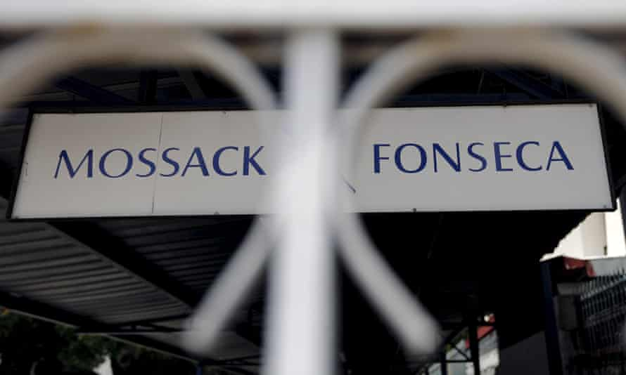 Mossack Fonseca sign