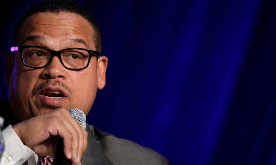 Keith Ellison: 'By putting people out into the street, what they're doing is not only hurting a family, but they're actually exposing all of us to potential transmission.'