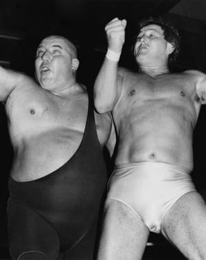 Emerging in Britain in the 1950s, wrestling had its roots in music hall and circus. As much art form as it was sport, it came with its own characters and storylines. Bouts were held in town halls and theatres across the UK and shown on TV just before the Saturday afternoon football scores.Grunts & Grapples: The Golden Age of British Wrestling, 1950-1990 is published by Unbound.