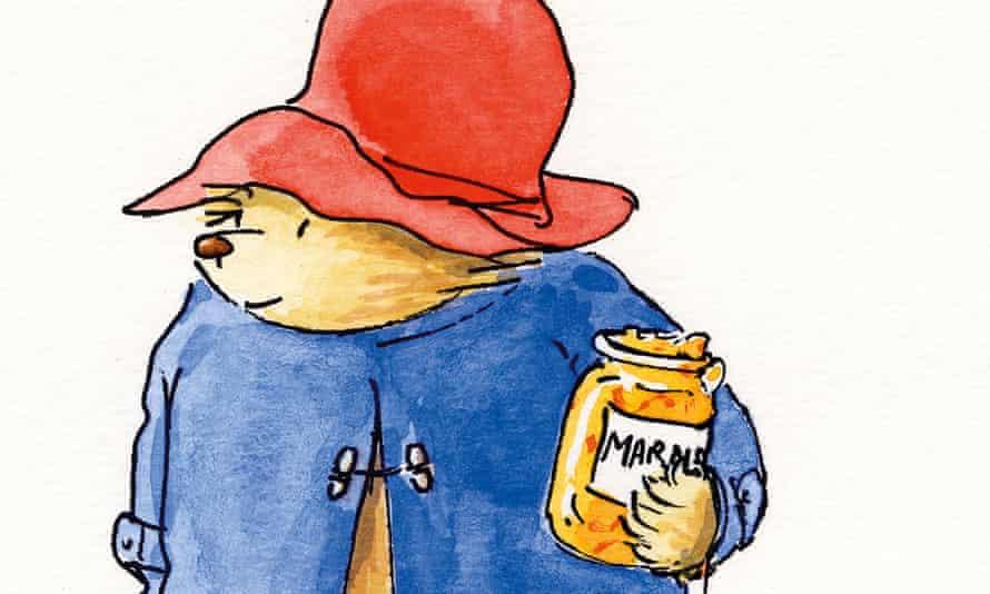 Paddington Bear with marmalade