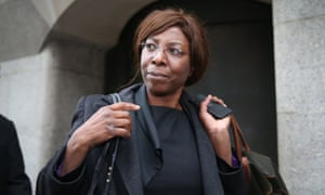 Constance Briscoe leaving the Old Bailey last year