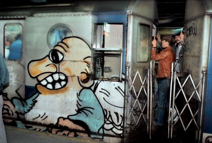 graffiti new york subway 1970 1980 underground