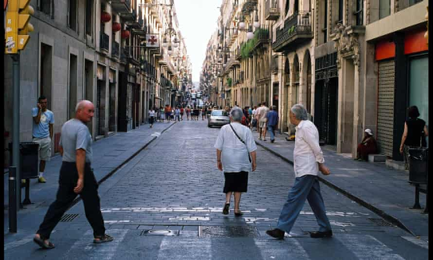 In Barcelona, nearly a quarter of the population are already over 65.