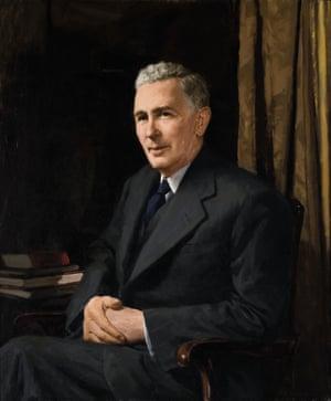The Rt Hon. Joseph Benedict Chifley, 1953.Archibald Colquhoun (1894–1983)