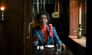 Lemn Sissay shot at the Newman's Arms Pub in Rathbone St, London.