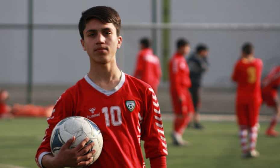 Zaki Anwari, Afghan footballer, Afghanistan
